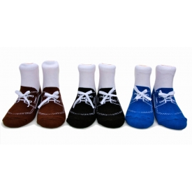 Theodore Boat Shoes , Set of 3 pairs