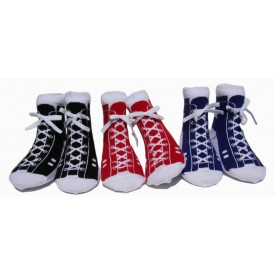 Classic High Tops, Set of 3 pairs