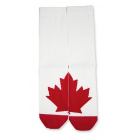 Men's, Maple Leaf Puzzle Sock in Bamboo - One Pair