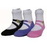 NEW & IMPROVED, Girls Garden Collection, Set of 3 pairs,