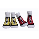 NEW & IMPROVED Sneakers, Set of 2 pairs,