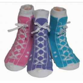 Pastel High Tops, Set of 3 pairs