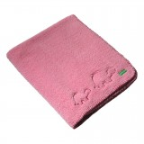 Ambajam Cuddle Blanket - Cotton Candy Pink